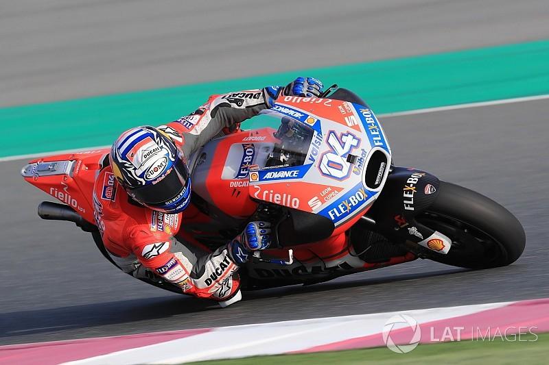 """Dovizioso: """"La Ducati va bene, dobbiamo migliorare in ottica gara"""""""
