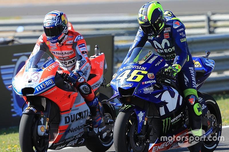 У Ducati здивувались критиці Россі на адресу Yamaha
