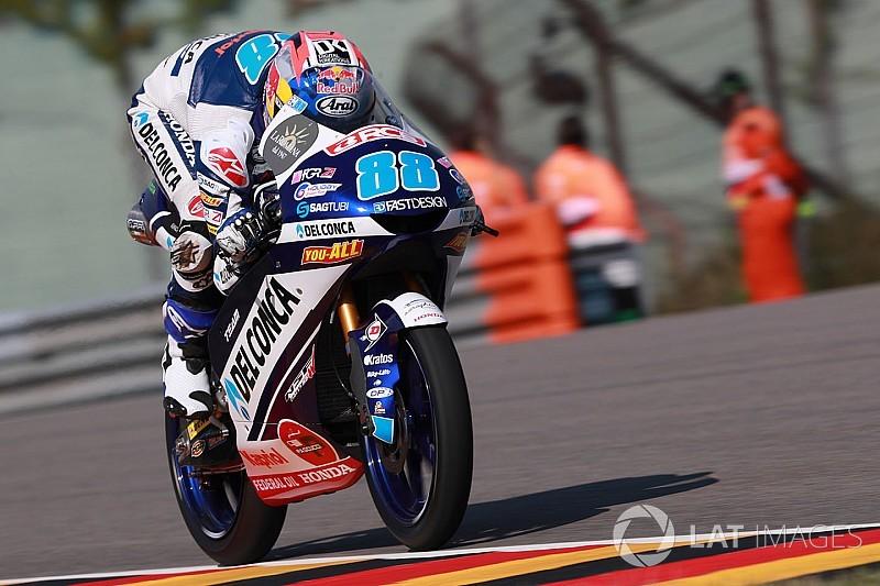 Sachsenring Moto3: Martin leads Bezzecchi for fifth win of 2018