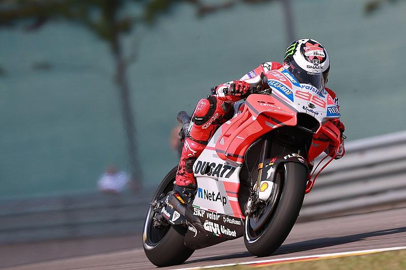 Lorenzo fecha sexta-feira como mais veloz na Alemanha