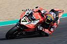 WSBK Ducati, Davies K.O: l'infortunio al ginocchio è più grave del previsto