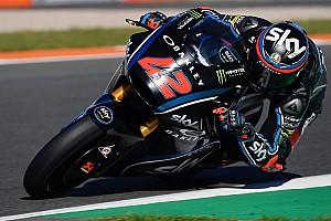 Moto2 Test Le basse temperature rovinano il test dello Sky Racing Team VR46 a Valencia