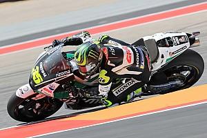 MotoGP Reaktion Crutchlow nach Sturz verärgert: