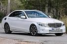 OTOMOBİL Yenilenen Mercedes C-Serisi çok hafif kamuflajla yakalandı