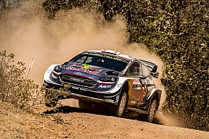 WRC Leg report Mexico WRC: Ogier wins as crash costs Meeke second