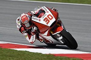 Moto2 速報ニュース 1周目に追突されリタイア、中上「なんとも言いようがない」:IDEMITSU Honda Team Asia