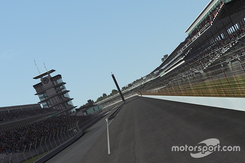 Live: Indy 500-simrace