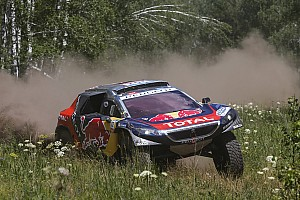 Cross-Country Rally Stage report Peugeot on top at rest day