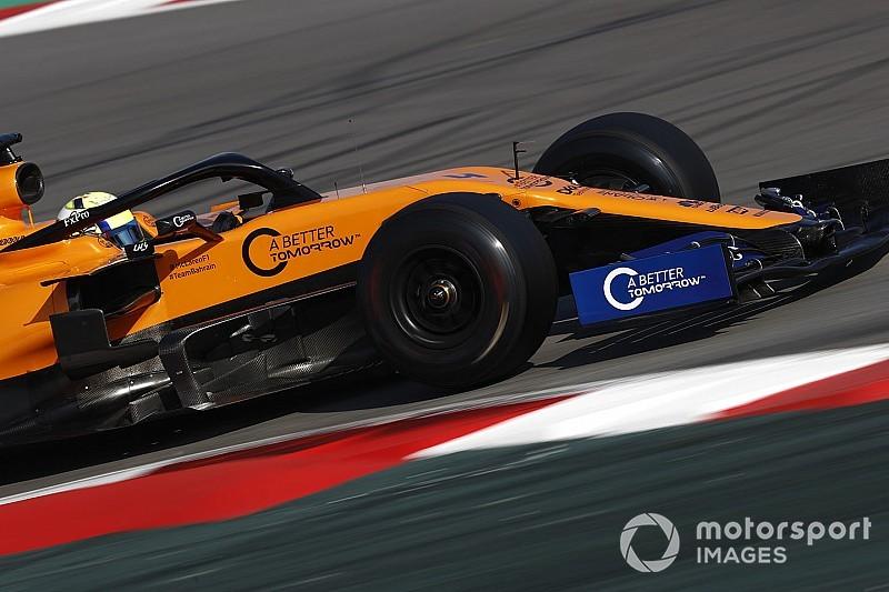 McLaren también cambia su decoración para Australia