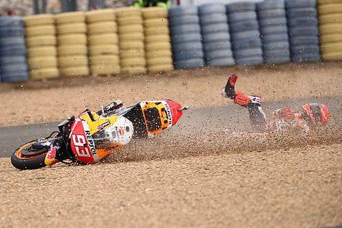 "Marquez crasht twee keer in Le Mans: ""Het was onnodig"""