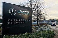 Mercedes geeft fabriek in Brackley een facelift