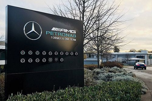 Mercedes geeft fabriek in Brackley een facelift
