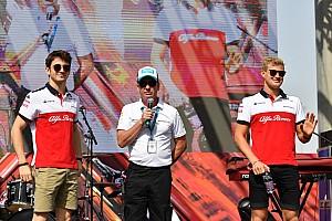 Diaporama: l'Alfa Romeo Sauber dans le Grand Prix d'Abou Dabi