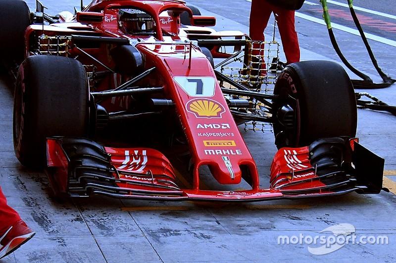 Les F1 2019, des différences avant