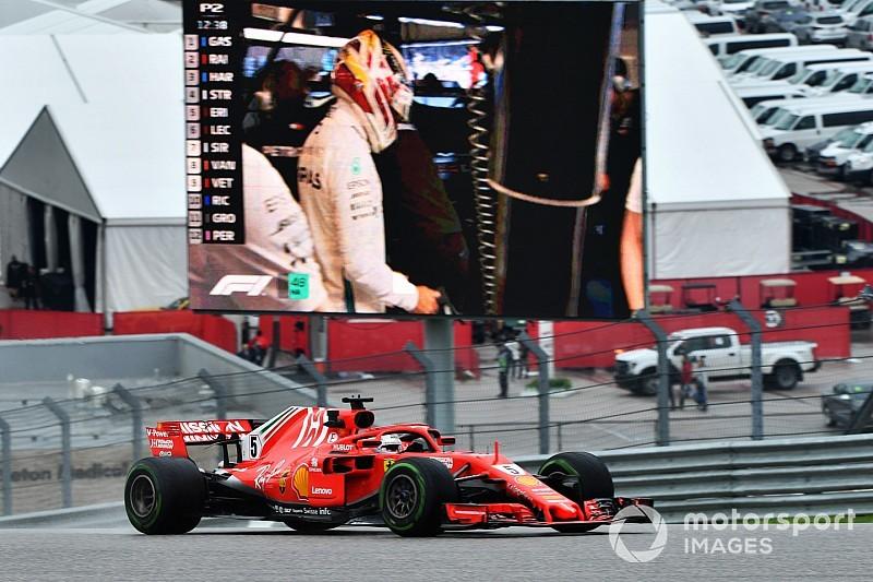 Com pista seca, Vettel faz melhor tempo no TL3