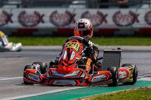 Rafael Câmara coloca Brasil no pódio do World Series Karting na Itália