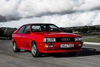 Audi quattro: 40 aniversario del primer tracción total de la marca