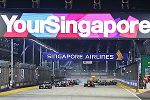 """Formula 1 Breaking news New Singapore GP deal """"very close"""", says promoter"""