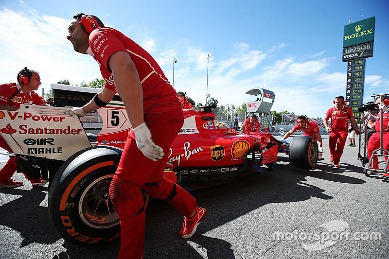 Vettel, obligado a usar su tercer motor de 2017