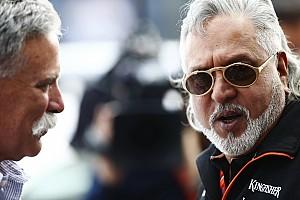 F1 Noticias de última hora Mallya aún no decide el cambio de nombre de Force India