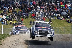 Rallycross-WM News Audi-Piloten: WRX-Lauf in Belgien eine Mutprobe