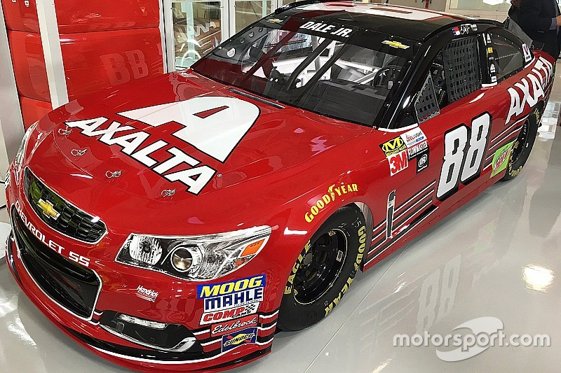 Earnhardt unveils new axalta paint scheme for bristol | hendrick.