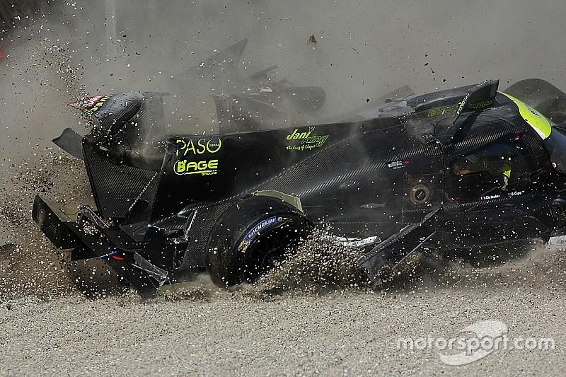 VIDEO: El espectacular accidente de Delomier en Monza
