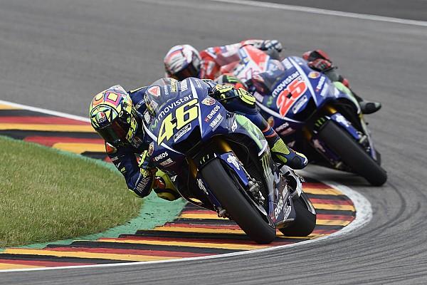 MotoGP Rossi neemt genoegen met vijfde plek na zwaar weekend