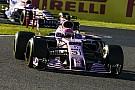 Force India maintient ses consignes d'équipe