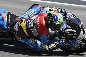 Moto2 Verslag vrije training Beste tijd en crash voor Morbidelli in tweede training GP Catalonië