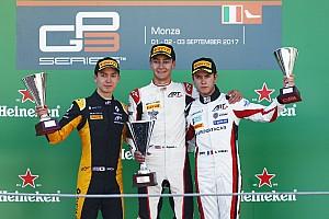 GP3 Crónica de Carrera Nueva victoria de Russell en la única carrera de la GP3 en Monza