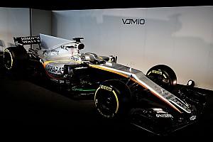 Формула 1 Новость Force India представила новую машину. У нее очень длинный «нос»
