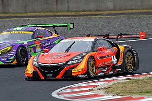 Super GT Qualifying report Okayama Super GT: ARTA upsets Lexus teams to take pole