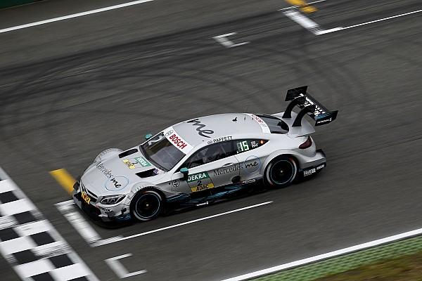 Nurburgring, Libere 1: Paffett il più rapido sotto la pioggia