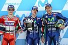 Aragon MotoGP: Vinales takes pole as Marquez crashes