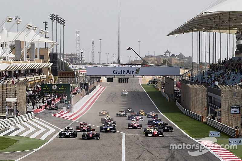 Kalender resmi Formula 2 2017