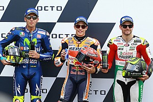 MotoGP Qualifying report Silverstone MotoGP: Marquez beats Rossi for fourth straight pole