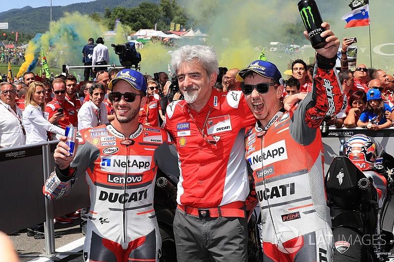 [MotoGP] 洛伦佐:胜利不会改变我和杜卡迪的未来