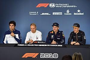 Formula 1 Press conference Canadian GP: Thursday's press conference