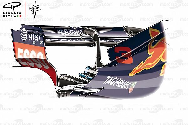 Red Bull: l'ala di Baku è identica a quella che è stata usata l'anno scorso