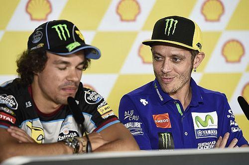 """Morbidelli: """"Hay un poco una tormenta con la llegada del equipo de Rossi"""""""