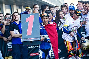 World Superbike Special feature GALERI: Momen bersejarah Galang Hendra di WorldSSP300 Jerez