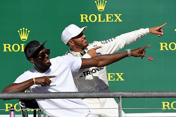 Fórmula 1 La historia detrás de la foto: Hamilton hace el 'Lightning Bolt'