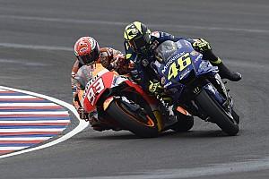 Argentina, el cruce de caminos entre Márquez y Rossi