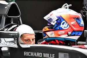 F1 Noticias de última hora Grosjean mostró su casco 2018