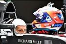 F1 Grosjean mostró su casco 2018
