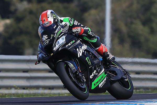 WSBK Rea hace el mejor tiempo en Jerez