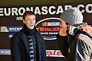 NASCAR Euro Kvyat proeft aan Euro NASCAR tijdens test in Italië