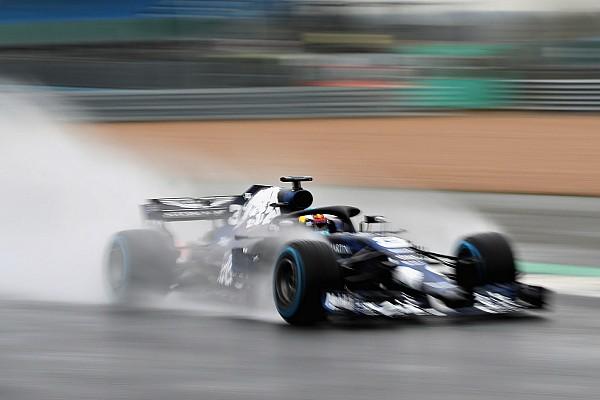 Формула 1 Новость Риккардо попал в аварию на обкатке RB14