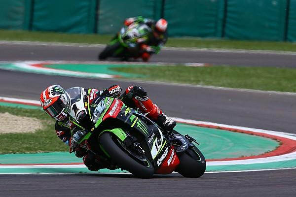 Superbikes Raceverslag WSBK Imola: Van der Mark crasht, Rea slaat dubbelslag